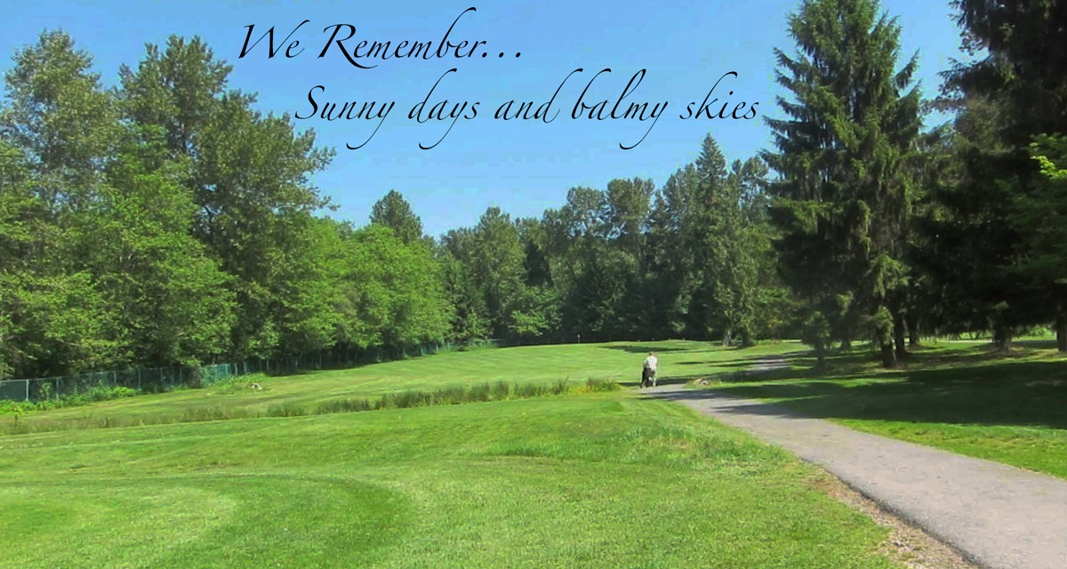 Burnaby Mountain Senior Mens Golf Course Remembrance